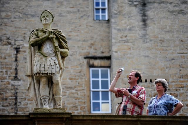 Besucher in Bath (keystone)
