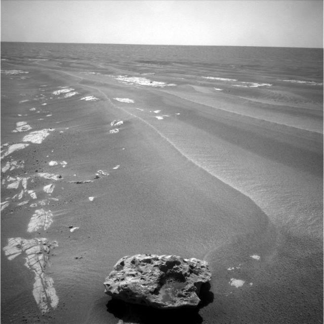 Meteorit auf dem Mars (keystone)