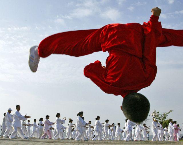 Chinesischer Fitness-Tag (keystone)