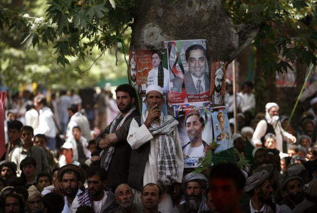 Wahlveranstaltung in Afghanistan (keystone)