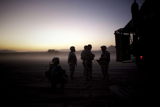 US-Soldaten auf Patrouille an der Grenze zwischen Afghanistan und Pakistan. (keystone)