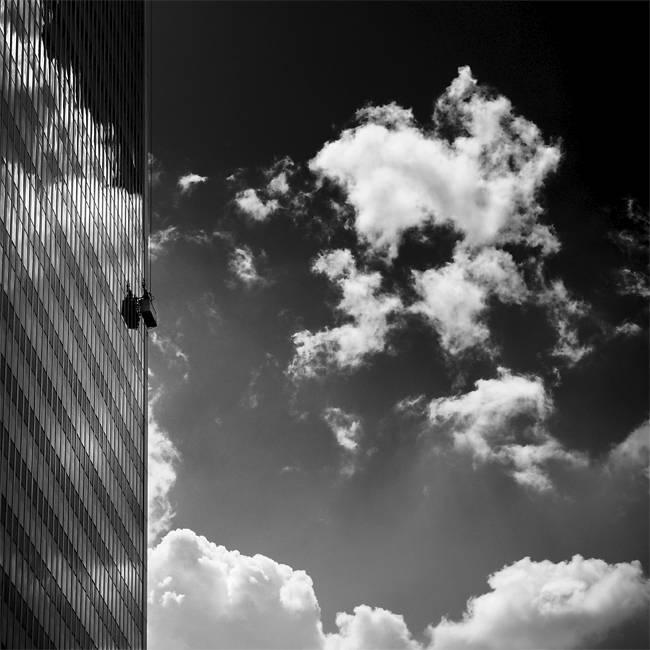 Menschlicher Punkt: Architektur mit i-Tüpfelchen