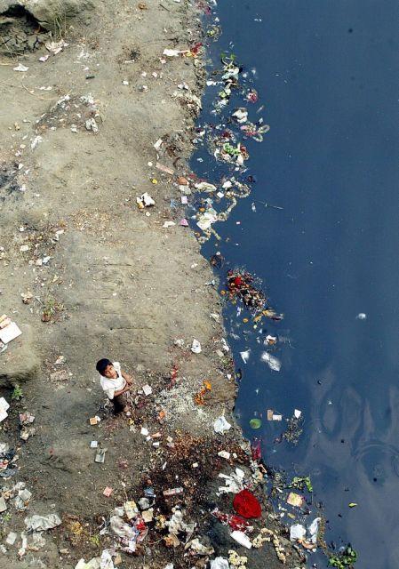 Indien Wasserverschmutzung (keystone)