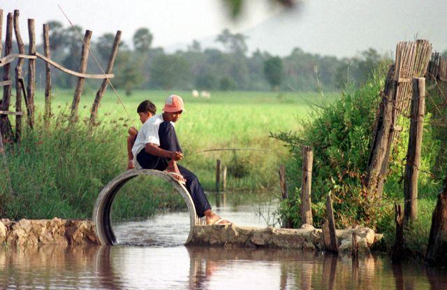 Kambodschanische Jungs (keystone)