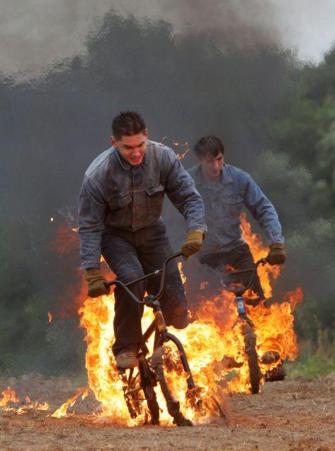 Russische Stuntmen (keystone)