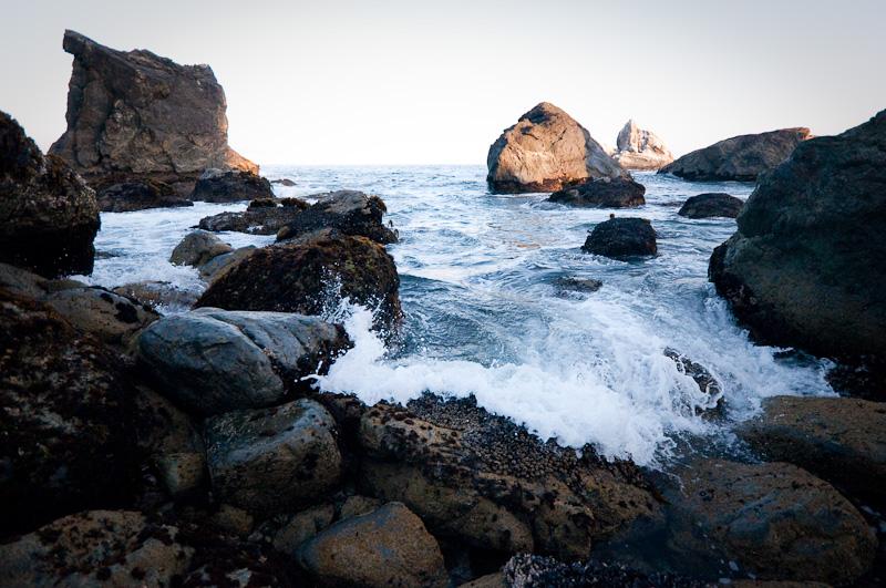 Fingerübungen - Wasserspiele: Der Ozean läuft aus