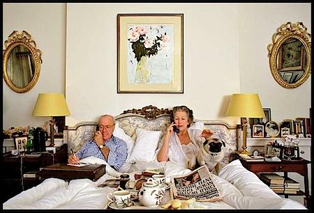 Schlafzimmer, London, 2000. (c) Herlinde Koelbl