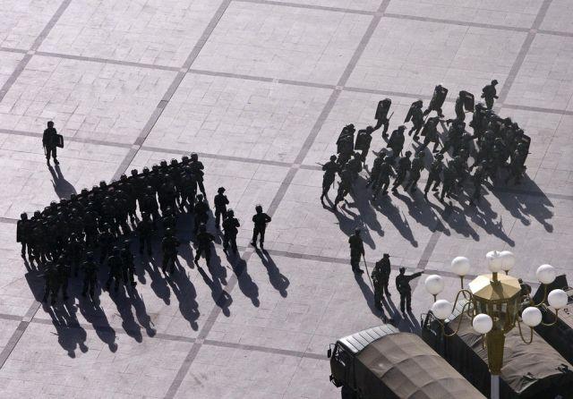 Chinesische Paramilitärs (keystone)