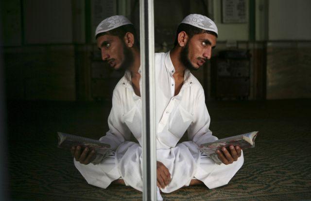 Moslem beim Gebet (keystone)