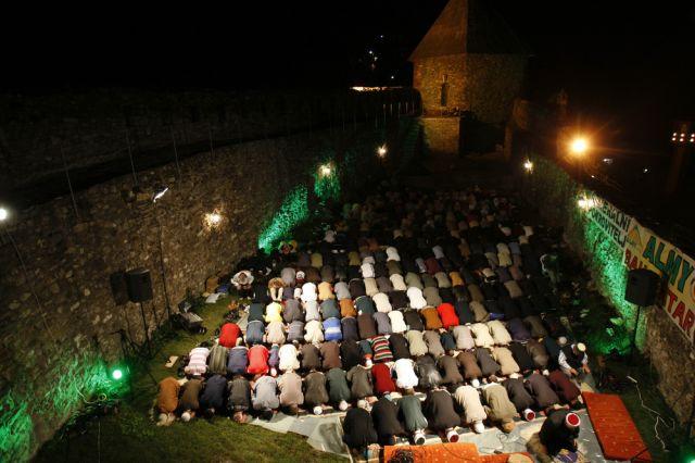 Bosnische Muslime (keystone)