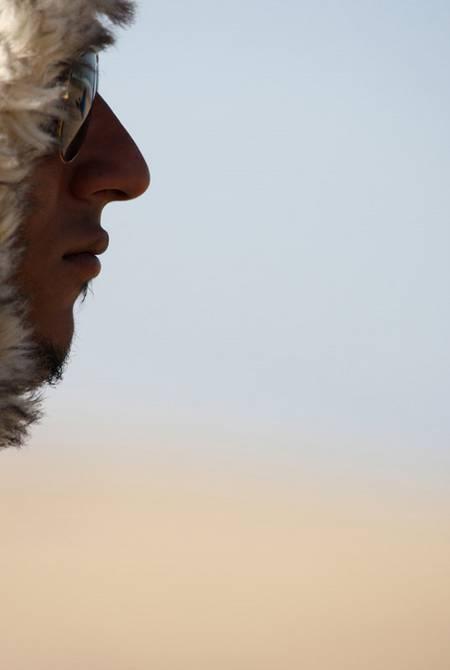 Surfer-Porträt: Extremer Ausschnitt