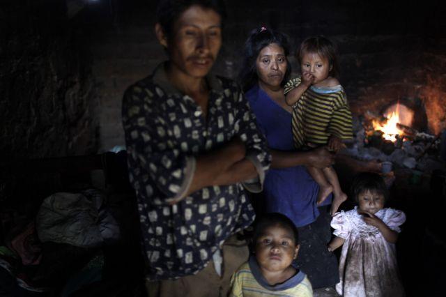 Armut in Guatemala (keystone)