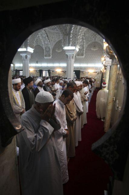 Sunniten und Schiiten (keystone)