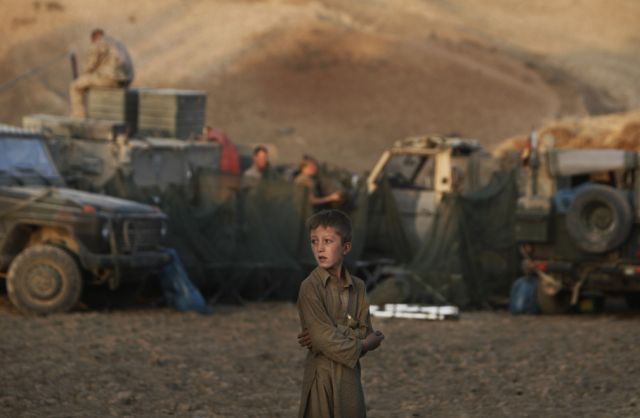 Junge in Afghanistan (keystone)