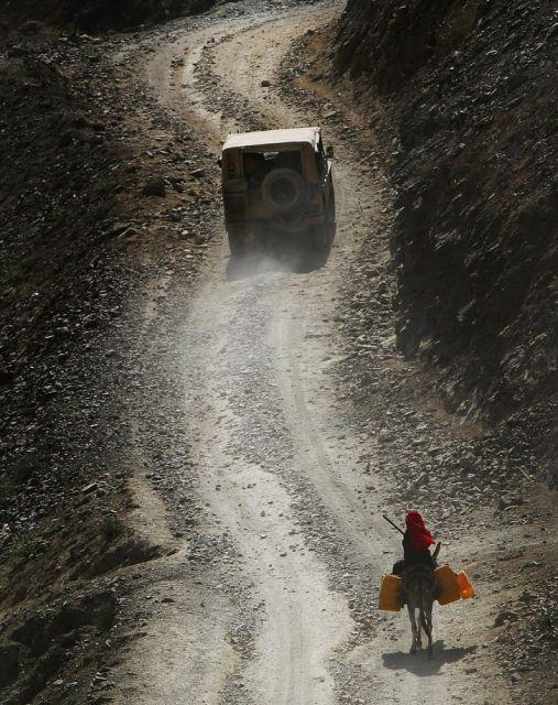 Afghanisches Mädchen (keystone)