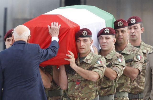 Italienische Opfer (keystone)
