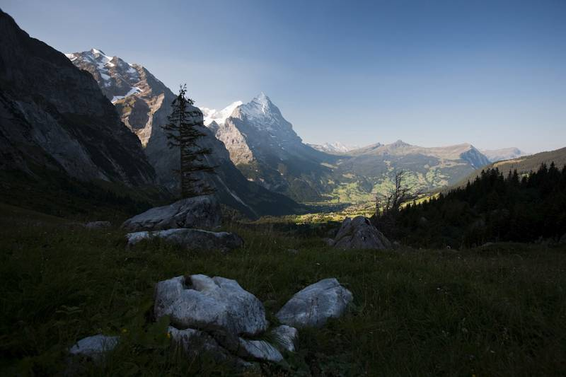 Sonnenaufgang in den Alpen: Fotografische Kontrast-Strafaufgabe