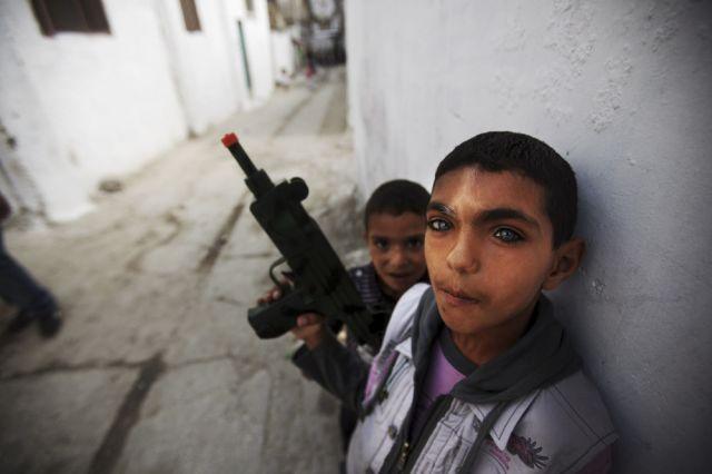 Palästinenserkinder (keystone)