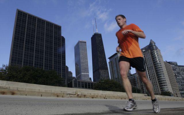 Jogger Chicago (keystone)