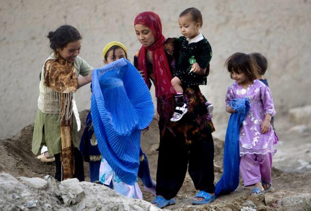 Afghanische Kinder (keystone)
