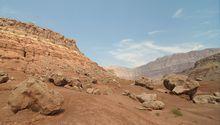 Marble Canyon in Arizona , langweilig wie er aus der Kamera kommt...