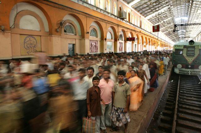 Bahnhof Kalkutta (keystone)