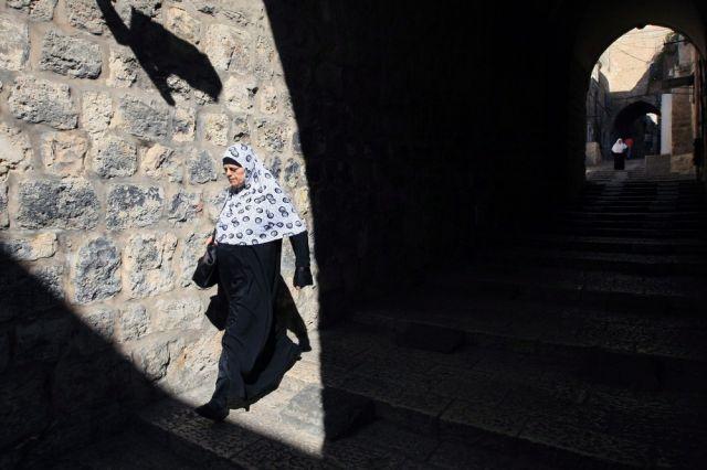 Palästinenserin in Jerusalem (keystone)