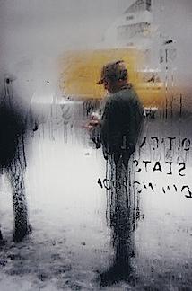 Saul Leiter: Snow, 1960 © Saul Leiter, courtesy Galerie f5,6 München