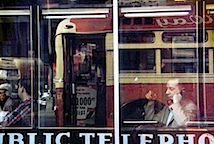 Saul Leiter: Phone Call, 1957 © Saul Leiter, courtesy Galerie f5,6 München
