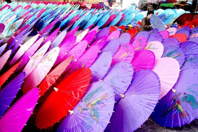 Chinesische Schirme (keystone)