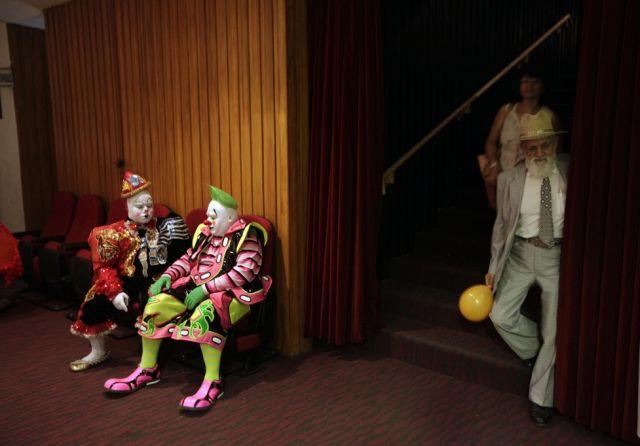 zwei Clowns (keystone)