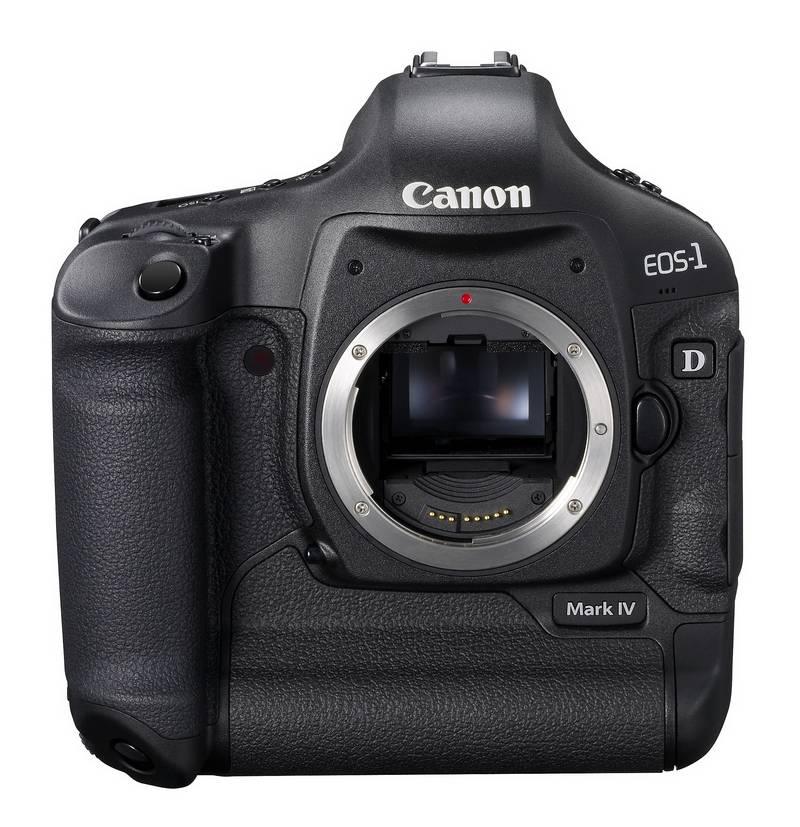 Canon EOS-1D Mark IV: Spitzenkamera mit zwei Prozessoren
