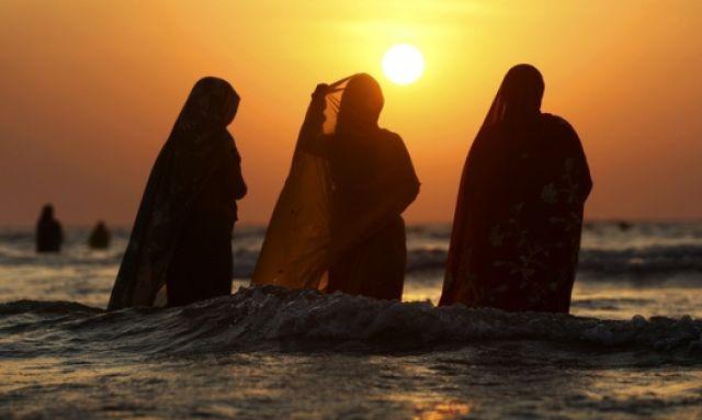 Hindu-Frauen (keystone)