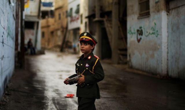 Palästinenserjunge (keystone)