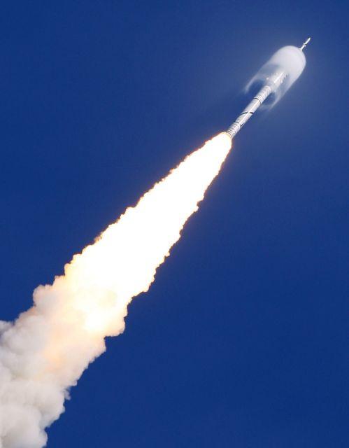 Raketenstart (keystone)