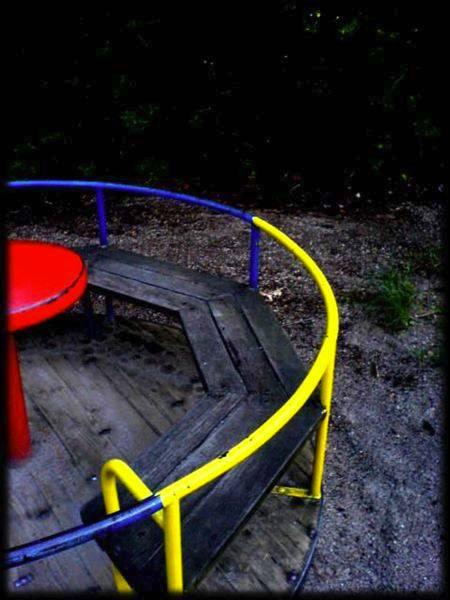 Kinderspielplatz: Reduktion mit Story