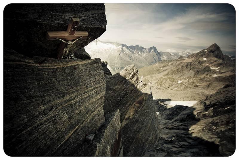 Hochgebirgs-Foto: Glaube und Hoffnung