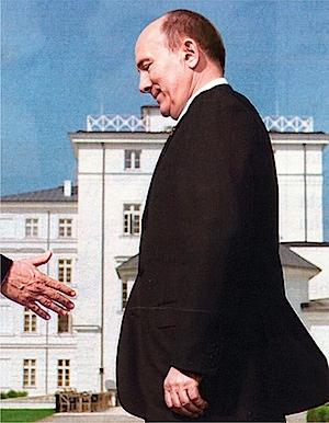 Michael Schäfer: Die Überlegung, 2009, aus der Serie Vorbilder