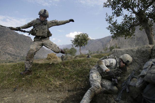Soldaten in Afghanistan (keystone)