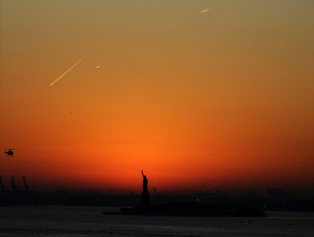 Sonnenuntergang im Big Apple (keystone)