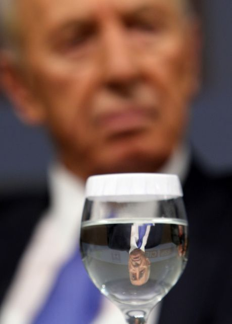 Shimon Peres (keystone)