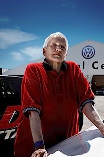 Denise McCluggage, 82, Rennfahrerin, aus der Serie SILVER HEROES, Danville VA, USA 2009 © Karsten Thormaehlen