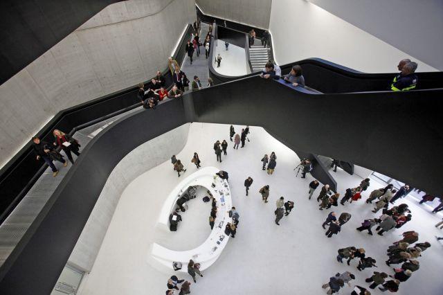 Innenansicht des Museums der Künste in Rome (keystone)