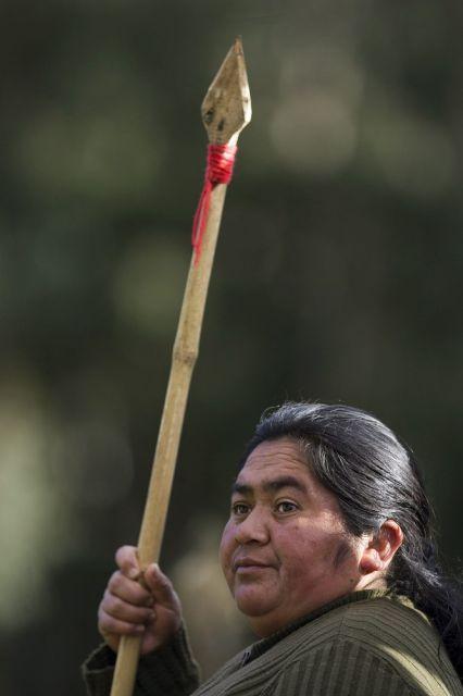 Mapuche-Frau (keystone)