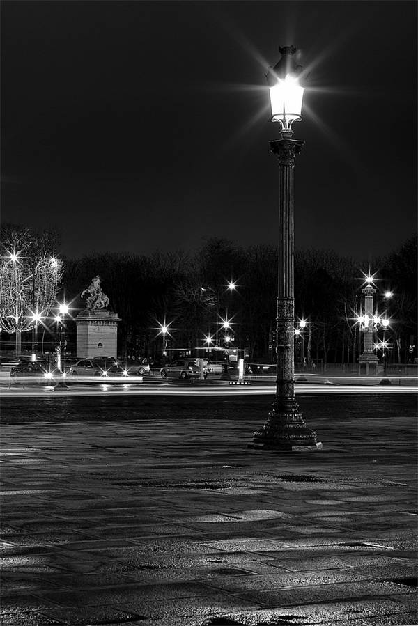 Nachtaufnahme mit Sternlichtern: Mehr Spannung durch Vordergrund