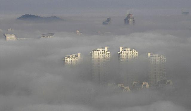 Nebel in china (keystone)