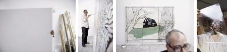 Kategorie `Kunst und Kultur`: Adrian Moser, aus `Kunst ist schön, macht aber viel Arbeit`. Espace Media-Preis für Pressefotografie `Swiss Press Photo 2009` (Keystone/SWISS PRESS PHOTO/Adrian Moser)