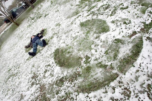 Schnee in Texas (keystone)
