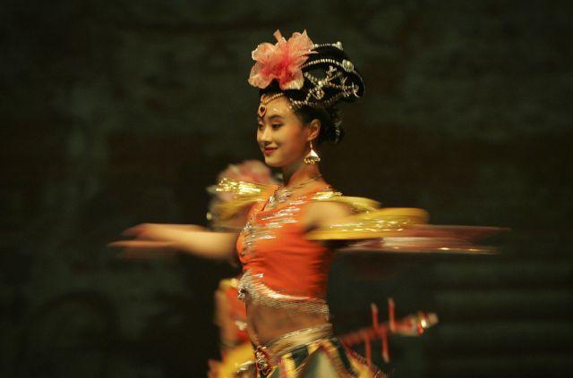 Chinesische Tänzerin (keystone)