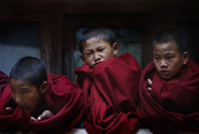 Tibetanische Mönche (keystone)
